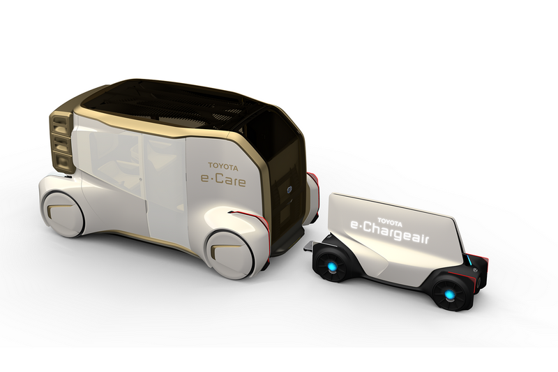 具有無線電功能的e-Chargeair能讓車輛邊開邊充。