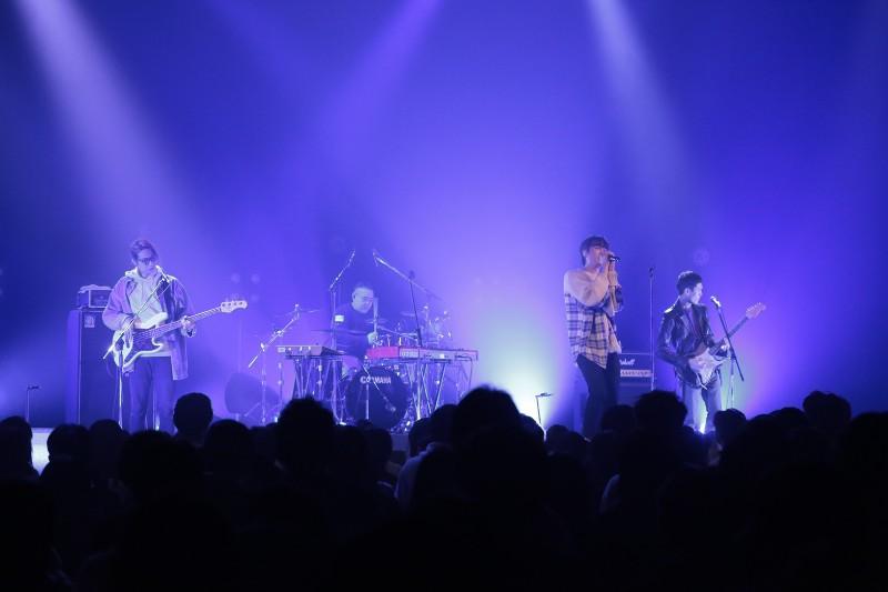 宇宙人是福岡「Bariyoka Rock」音樂祭唯一受邀的台灣樂團。