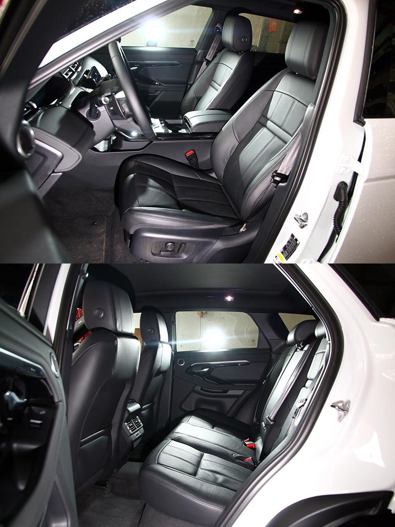 在車身略為放大下,車內空間也有些許提升。