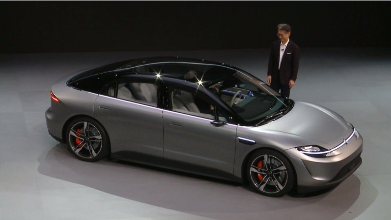 Sony在CES展中帶來Vision-S Concept概念車。