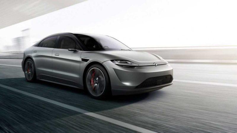 Vision-S Concept採用純電動力系統。