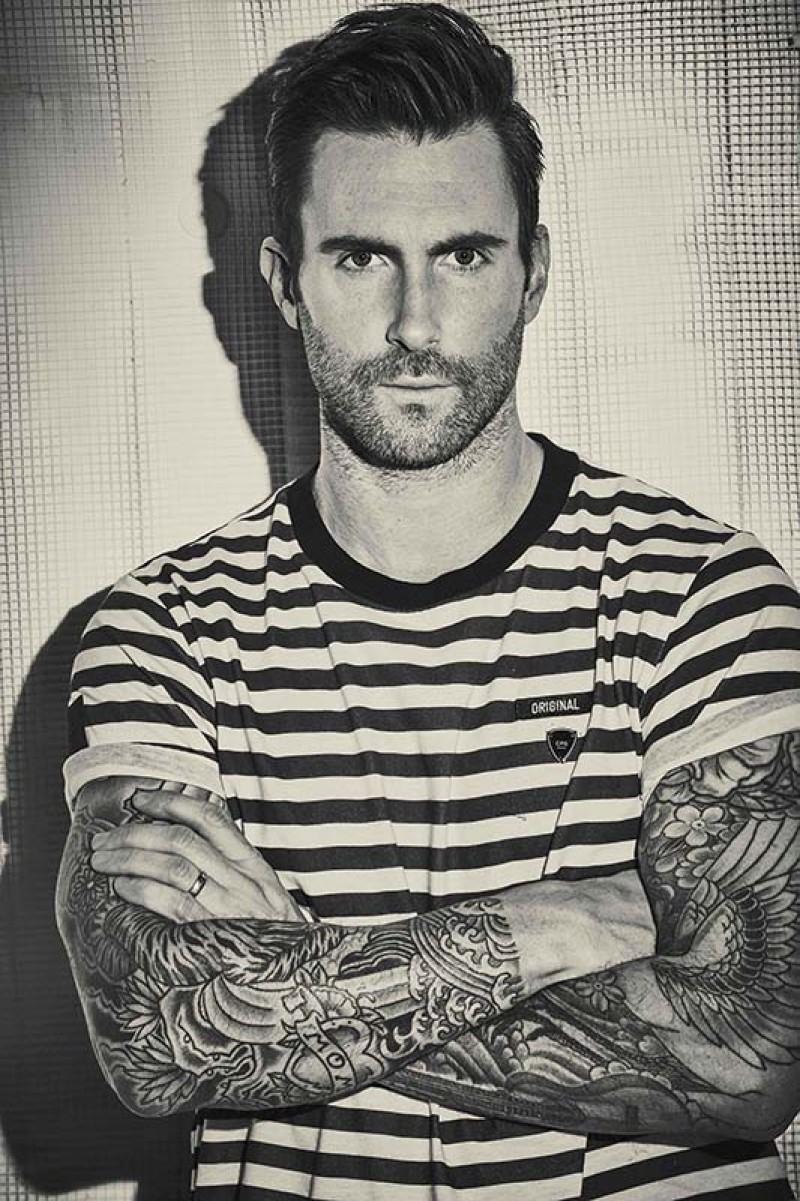 魔力紅樂團 (Maroon 5) 當家主唱亞當 (Adam Levine)