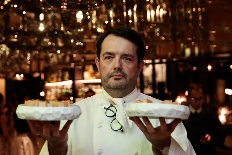 多次獲得米其林二星殊榮的法國名廚Jean-François Piège 尚馮索.皮耶