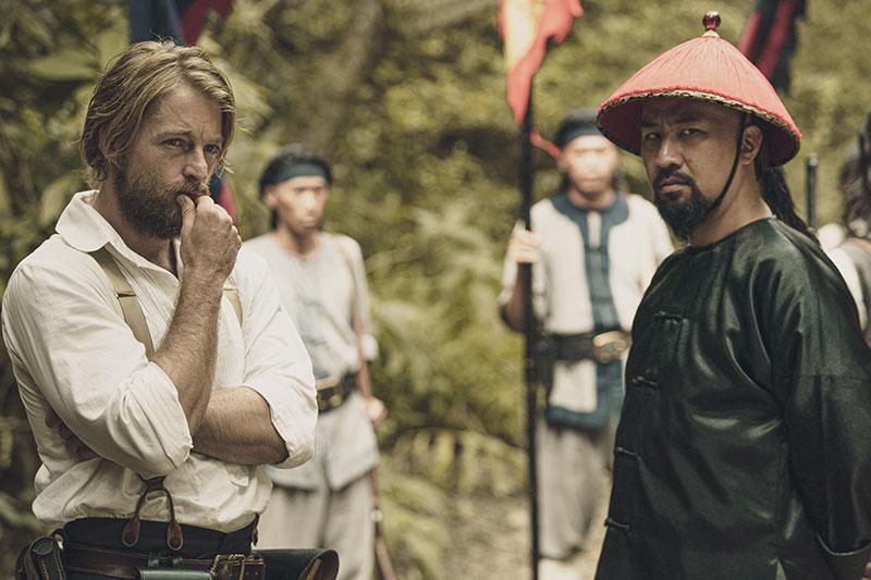 《傀儡花》(暫名)法比歐(左)與黃健瑋(右)首次同台飆戲,殺青最感念導演與劇組人員的辛苦付出