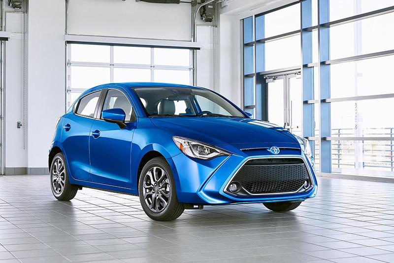 目前Toyota在北美販售的Yaris其實就是換上Toyota面容Mazda2