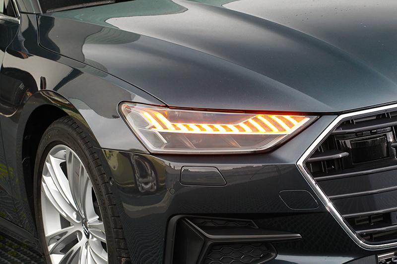 Audi在光源科技又帶來新創意。