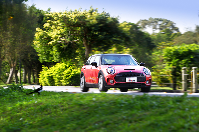 Mini Cooper S Clubman動靜皆宜的加速反應令人喜愛。