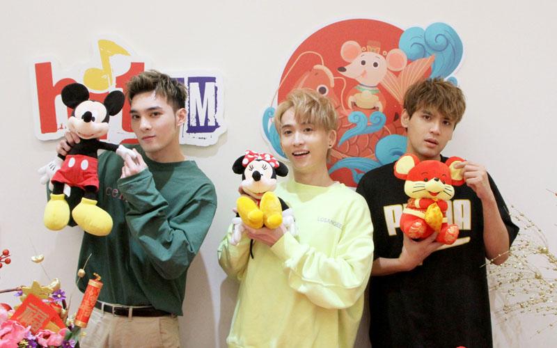 (左起)黃偉晉、邱鋒澤及陳零九