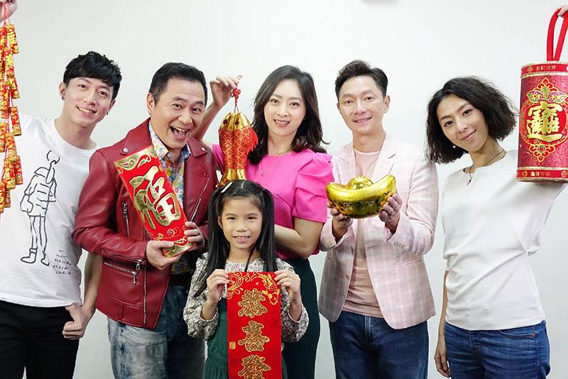 《最後一封情書》由劉瑞琪(中)、謝祖武(中右)、湯志偉(中左)、林辰唏(最右)、呂紹齊(最左)共同主演