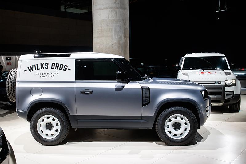 許多人本以為此商用版本已是Defender入門款,但顯然Land Rover還想佈建更入門的車型。