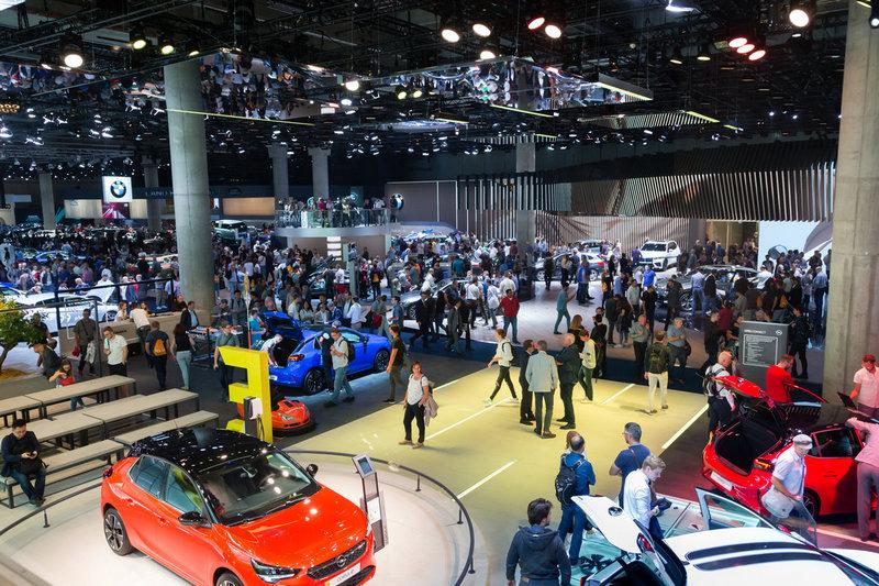 2021年IAA車展會在柏林、慕尼黑、漢堡其中之一城市舉辦。
