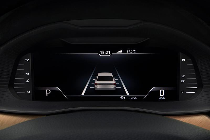 包含全速域ACC主動式定速跟車系統在內等多項ADAS先進駕駛輔助機制,理所當然成為全新ŠKODA Scala的標準配備。
