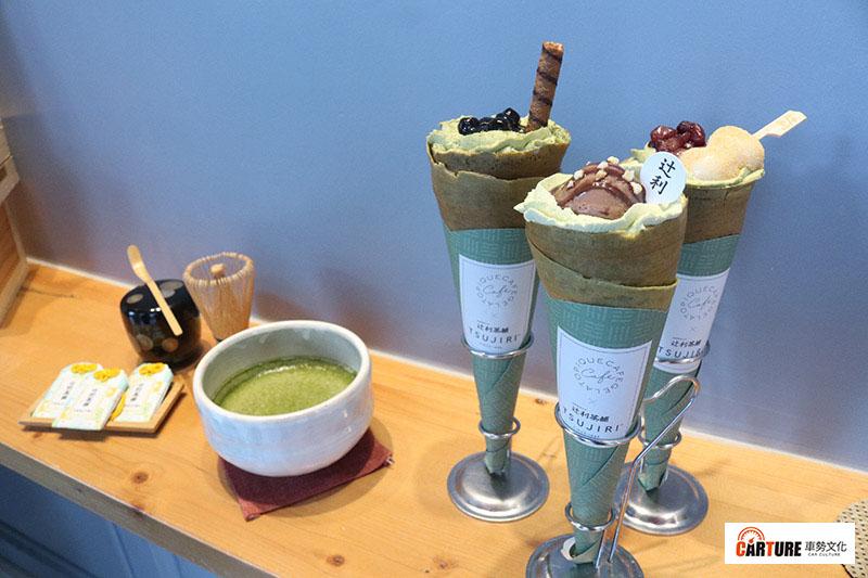 gelato pique cafe可麗餅咖啡屋,與日本百年老字號抹茶專家TSUJIRI辻利茶舗再度攜手聯名推出「抹茶系列可麗餅」