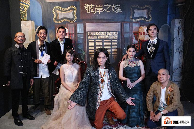 《彼岸之嫁》飾演「林天青」的田士廣(中),爺爺是馬來西亞拿督。/本站資料照片