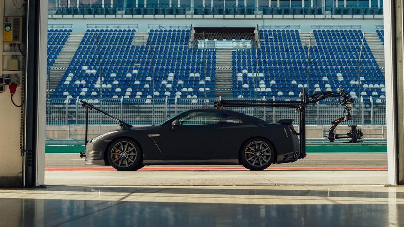 GT-R工作車上的攝影器材也讓不少攝影愛好者想擁有。