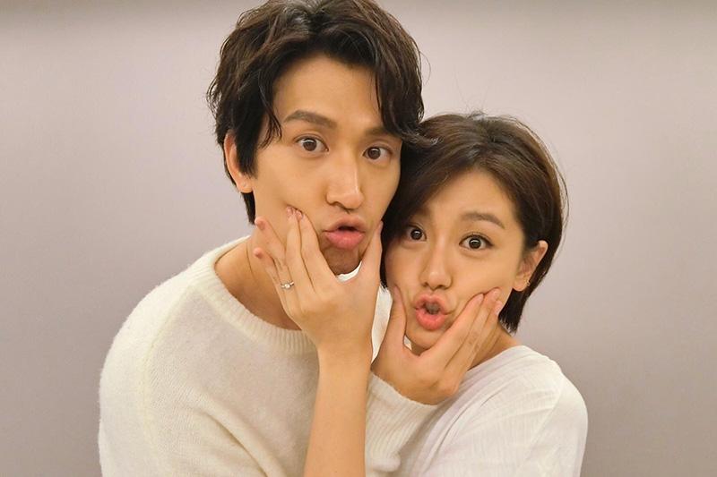 邵翔(左)小蠻公布婚訊,兩人用李先生李太太稱呼彼此。