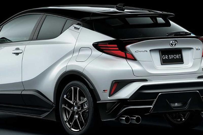 圖為日前推出之配上專屬套件與底盤強化的C-HR GR Sport。