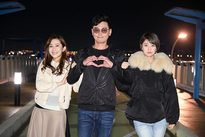 台劇《炮仔聲》中陳冠霖(中)以第三人角色再次現身。