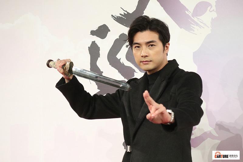 賀軍翔重返三立演出都會奇幻浪漫愛情新華劇《天巡者》。