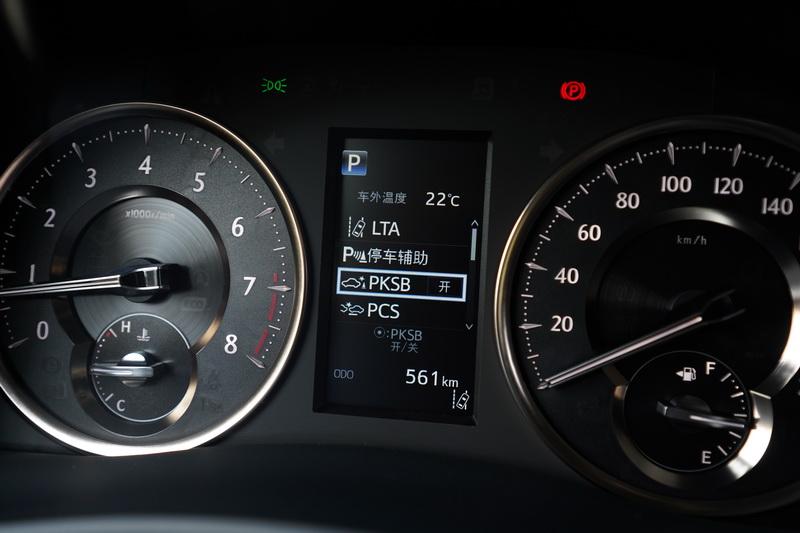 新年式導入了TSS 2.0駕駛輔助系統,儀表板選單內新增許多安全系統選項