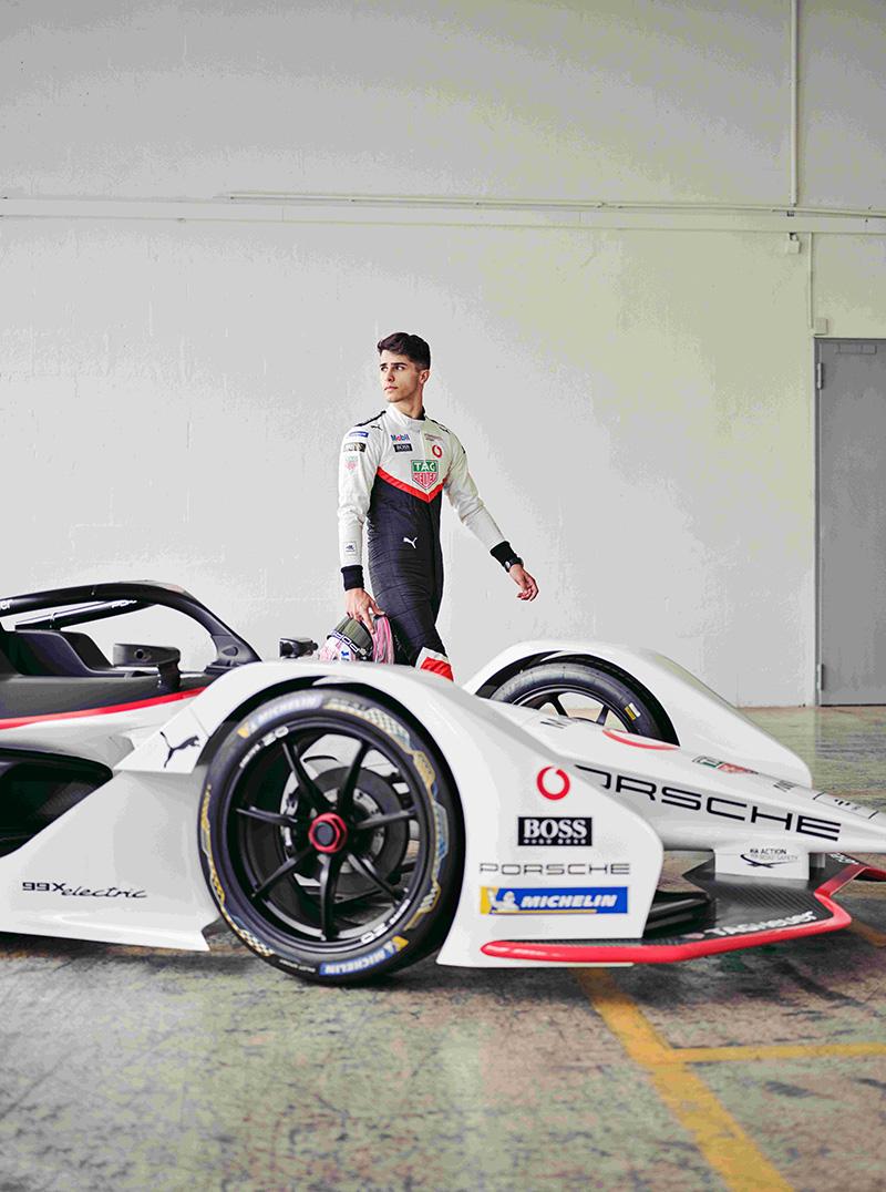 TAG Heuer Porsche Formula E 車隊推派Frédéric Makowiecki (FR) 與 Thomas Preining (AT)兩位車手參與摩洛哥站慣例舉辦的Rookie Test 新秀測試。