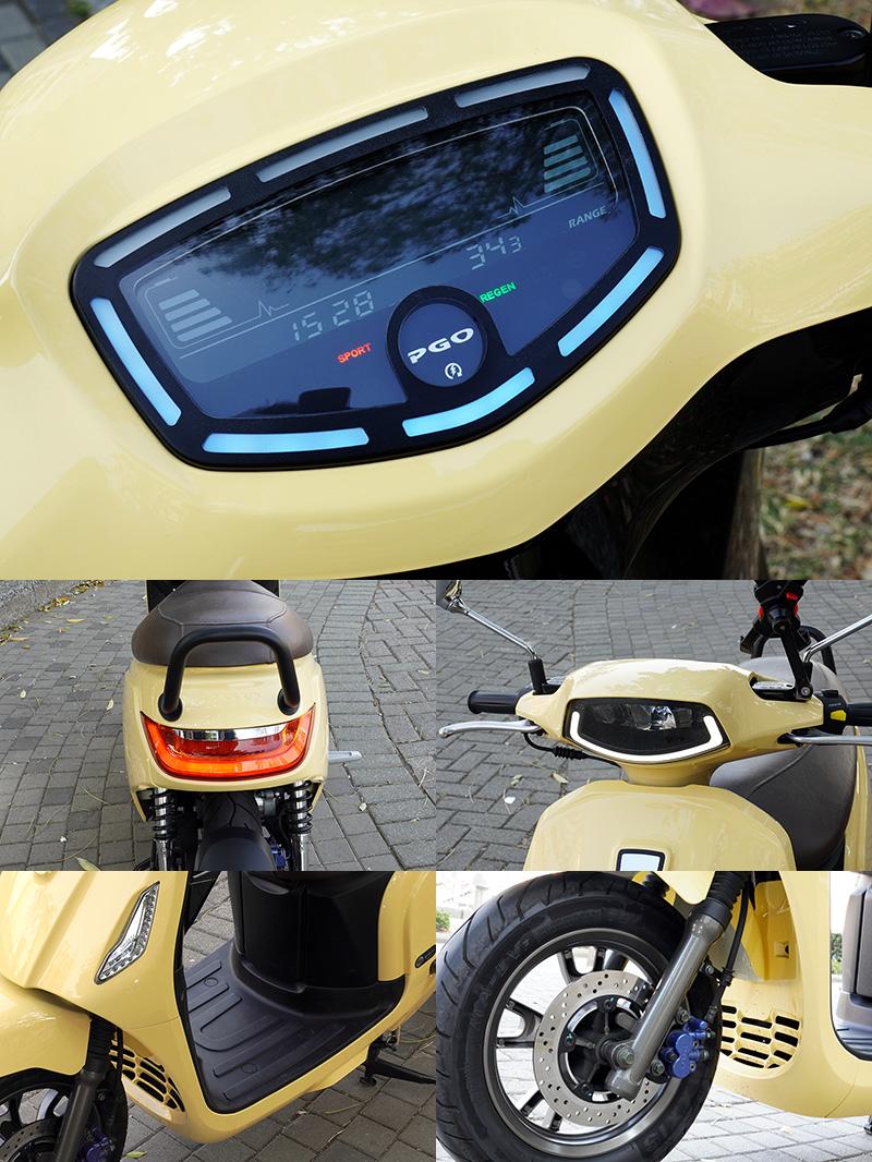 包括:LED日行燈,LED尾燈以及儀錶板周圍光帶、腳踏墊上紋路與輪圈樣式,都加入了U型造型。