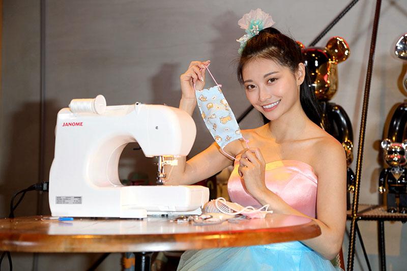 祈錦鈅自製布口罩