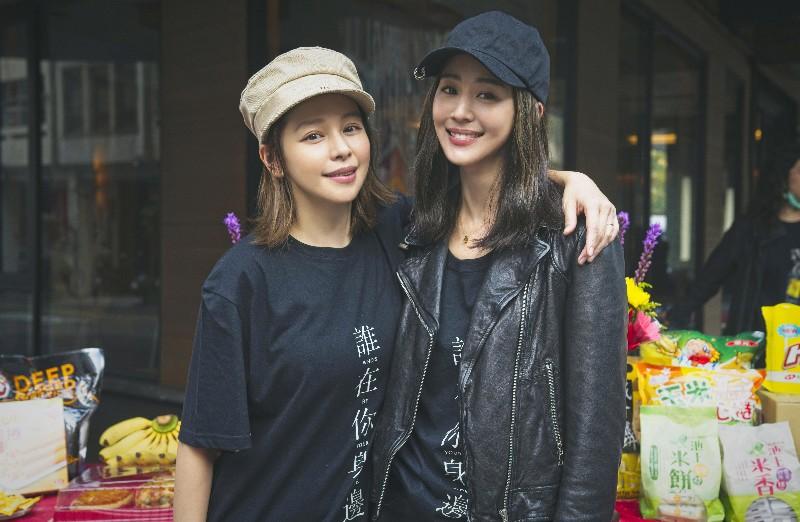 何潤東影集《誰在你身邊》邀張鈞甯(右)、徐若瑄(左)擔綱暗黑女主角