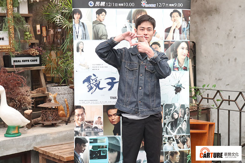 《鏡子森林》演員夏騰宏。/本站資料照片