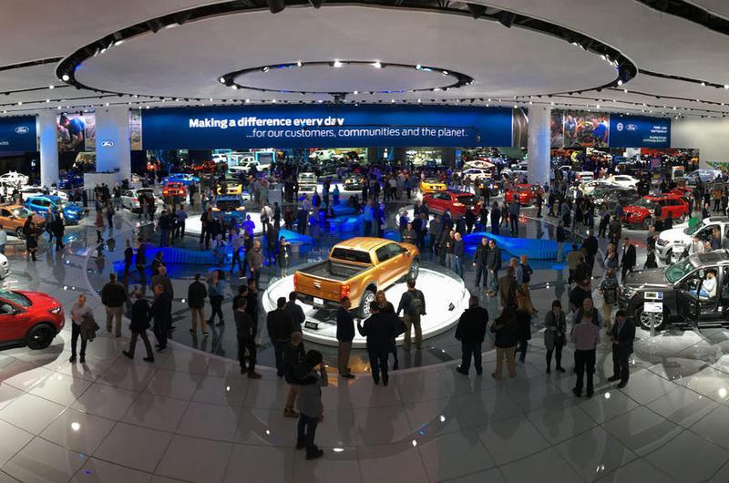 北美車展從今年開始將改至6月舉辦,且展場也會增加戶外打造如嘉年會。
