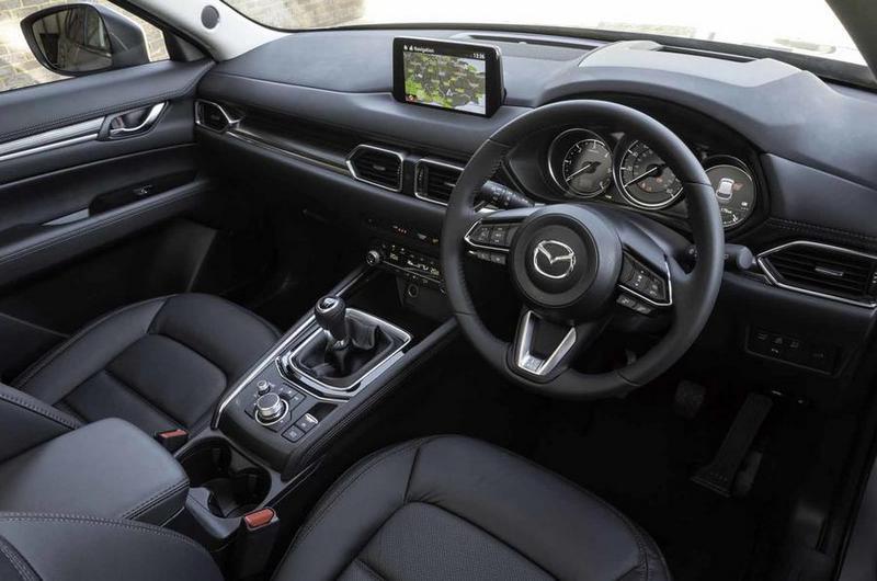 新年式CX-5中控螢幕尺寸升級,隔音工程也有所提升。