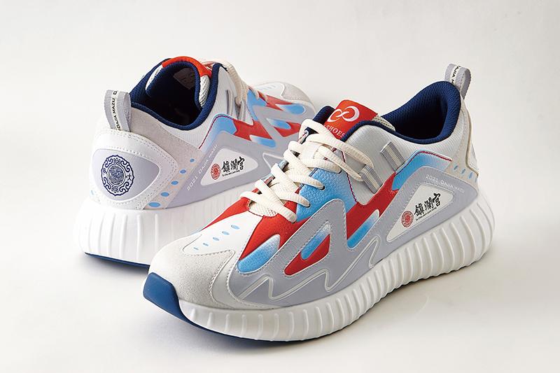 媽祖平步青雲遶境鞋推升級版。