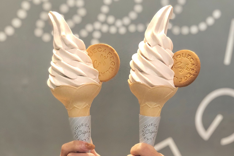 gelato pique cafe 期間限定_蜷尾家聯名_芋泥牛奶霜淇淋