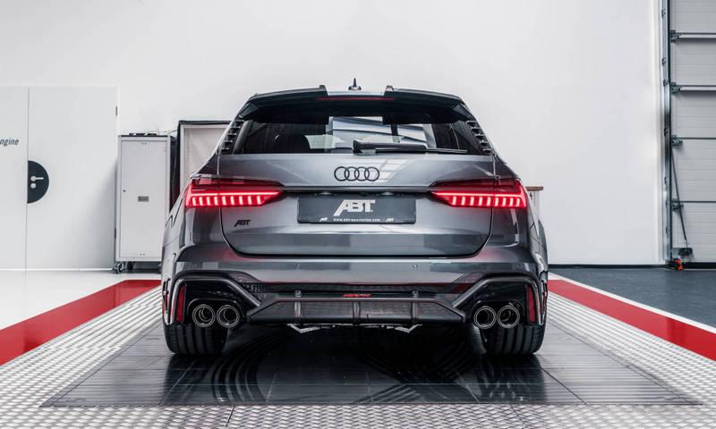 ABT日前推出RS 6 Avant改裝範本RS6-R。