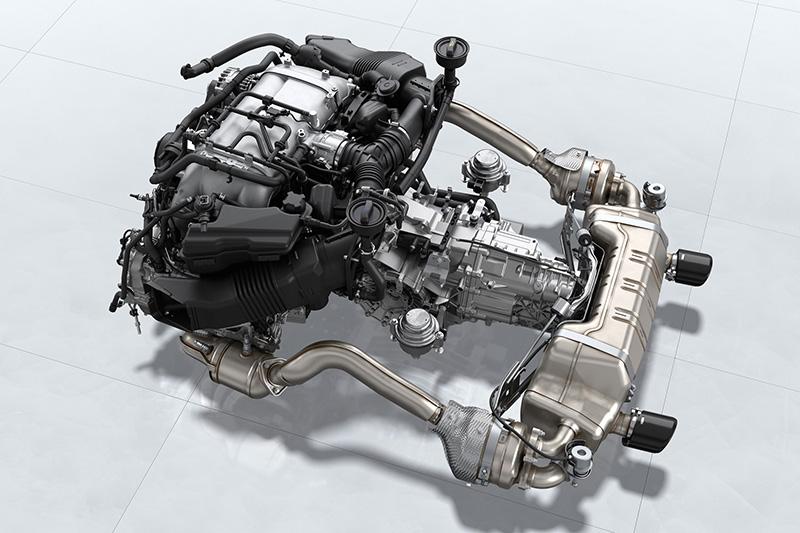 被捕捉到的Cayman GT4 RS動力預估會有500匹水準。