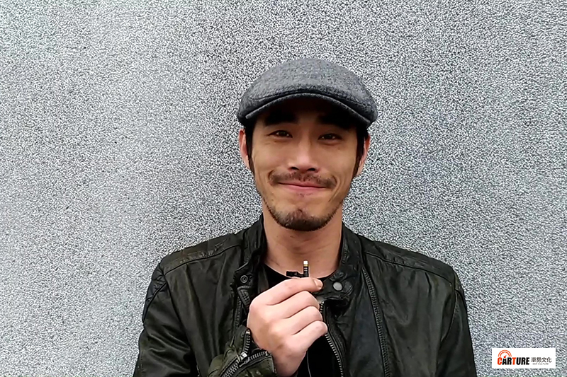 黃騰浩演出《妖怪人間》與空氣鬥毆,親錄影片邀車勢文化的朋友收看新戲