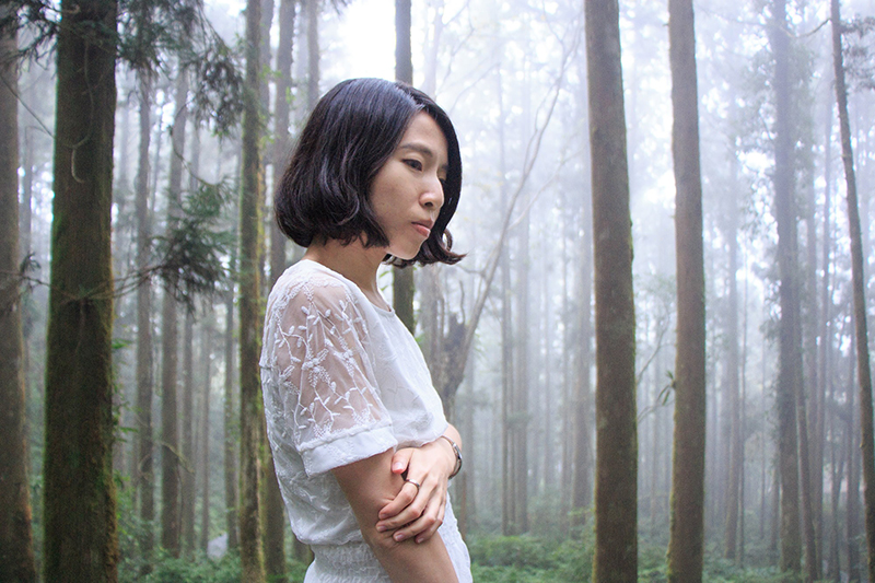 客家創作歌手曾雅君《Yourself自己》專輯入圍美國獨立音樂獎。/鴿子窩音樂提供
