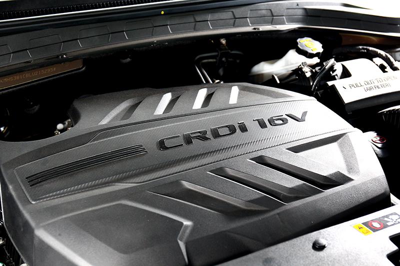 引擎依舊搭載2.2升柴油引擎200hp/44.9kgm輸出動力。