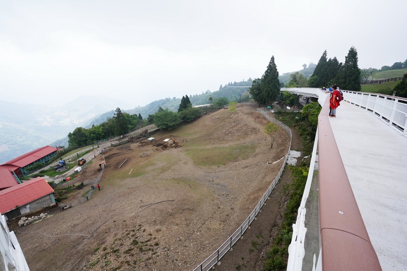 2017年正式啟用的天空步道,這座長1.2公里的步道視野相當開闊