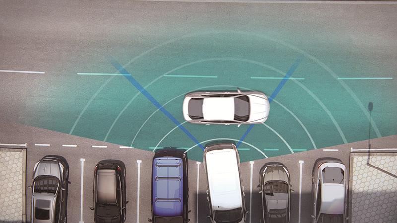 New Ford Tourneo Custom福特旅行家,導入Ford Co-Pilot360 Technology全方位智駕領航科技,帶來前向、雙側邊、後向完整行車主動安全防護。