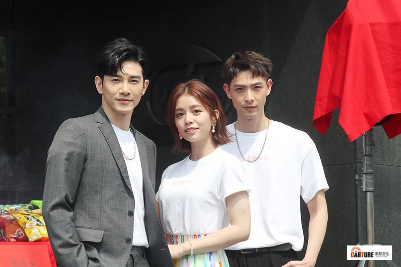 《浪漫輸給你》主要演員張立昂(左起)、宋芸樺、連晨翔。