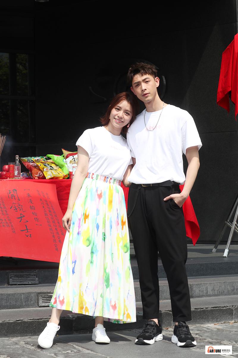《浪漫輸給你》主要演員宋芸樺(左起)、連晨翔。