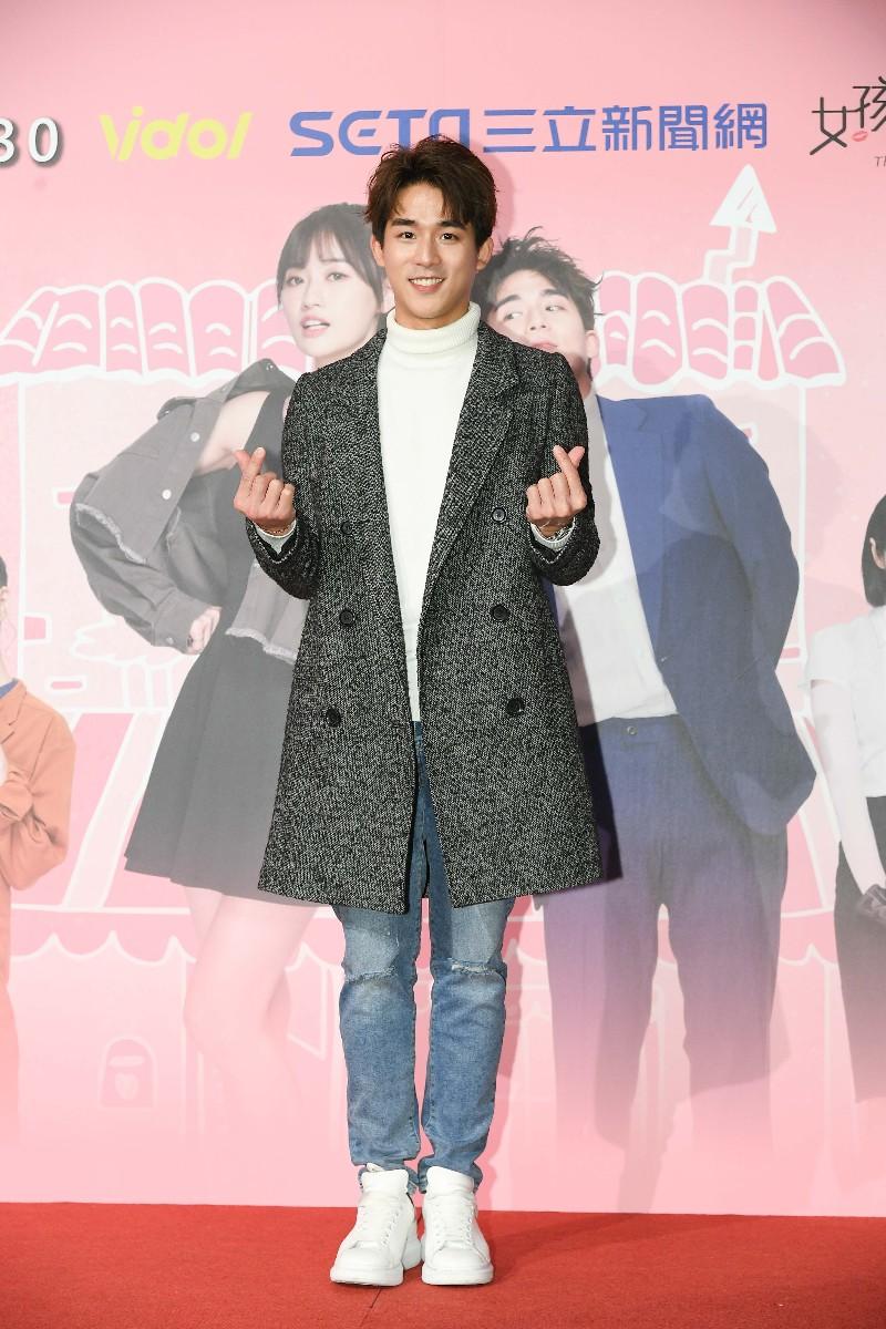《限時同居侯八天》男主角李博翔。