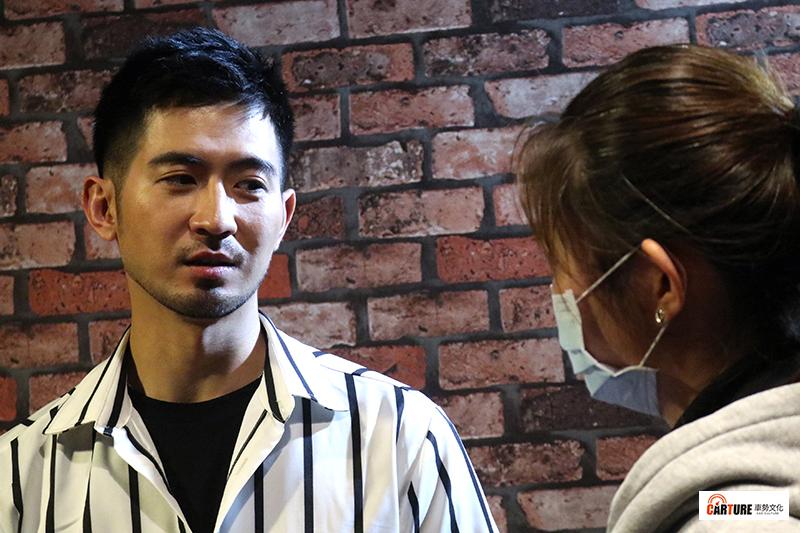藝人言明澔接受本站專訪。