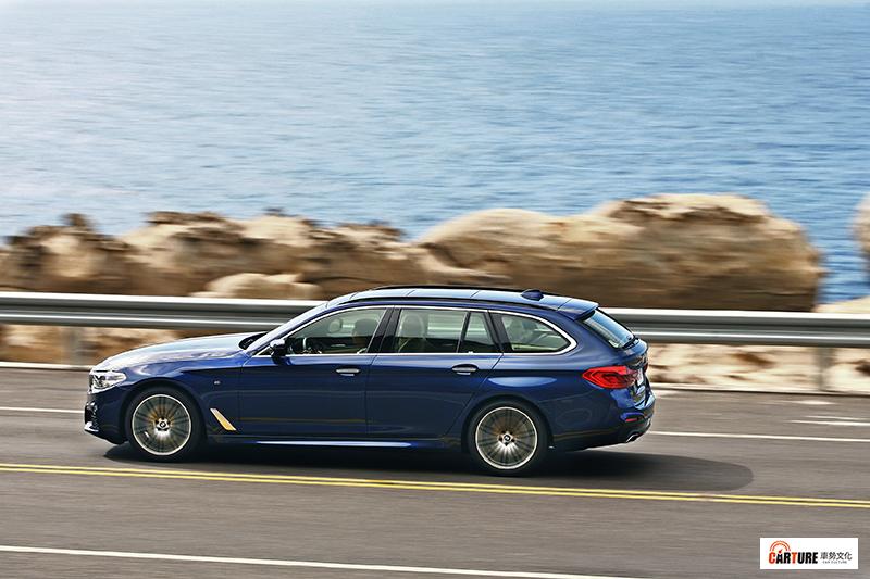 言明澔目前心中的夢想車款為BMW 5 Touring。/本站資料照片