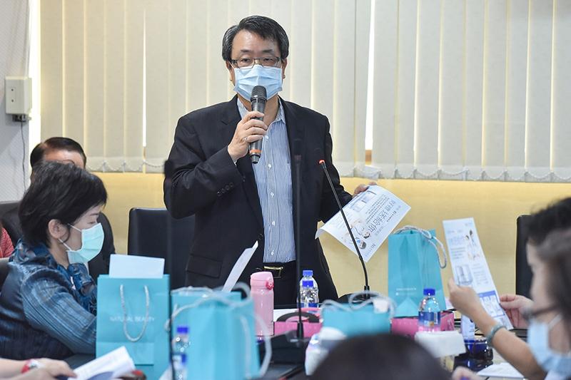 東森集團副總裁廖尚文。