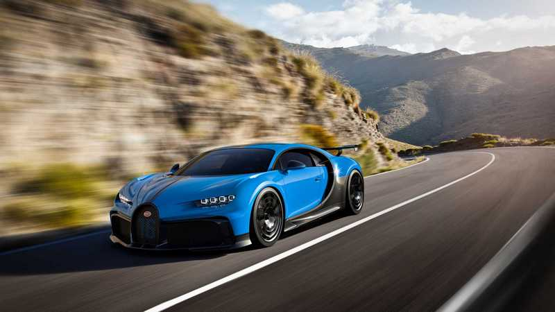 Chiron Pur Sport是針對操控的車型,所以極速只限定在350km/h。