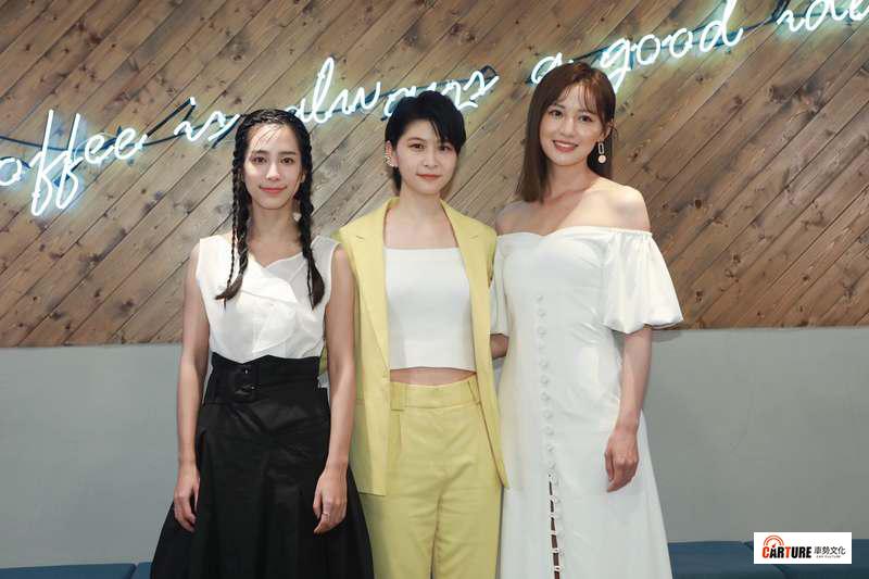 温貞菱、江沂宸與梁以辰在《潘朵拉》中同台飆戲。
