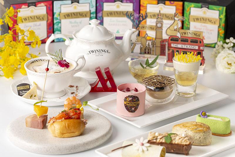 台北萬豪酒店、唐寧茶聯名下午茶 - 「心之燦遊」鉑金午茶宴饗