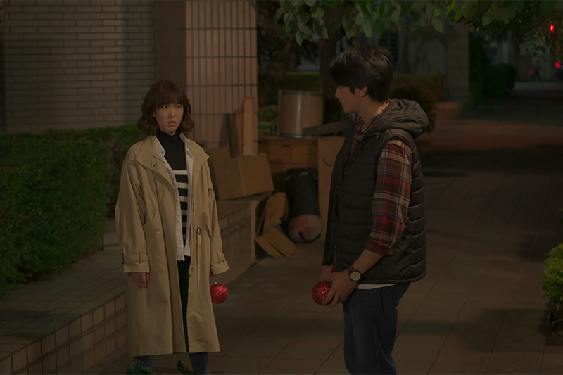 《若是一個人》演員孫可芳(左起)、宋柏緯 。